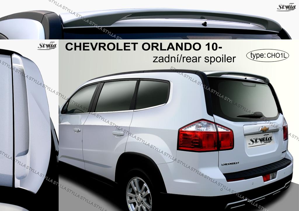 Spoiler Rear Roof Chevrolet Orlando Wing Accessories Ebay